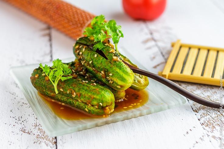 Огурцы по-корейски рецепт