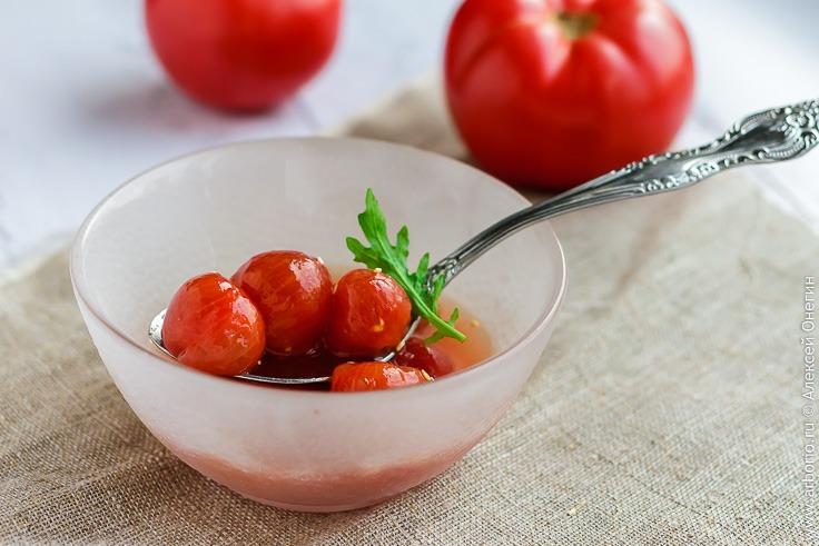 Севиче из помидоров черри - фото