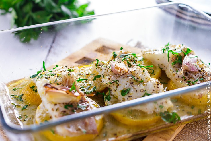 Филе трески в духовке рецепт