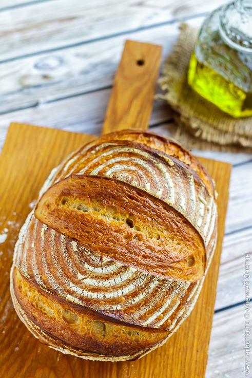 Рецепт хлеба на закваске с фото