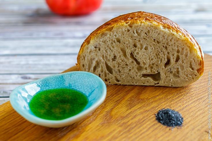 Хлеб на закваске рецепт