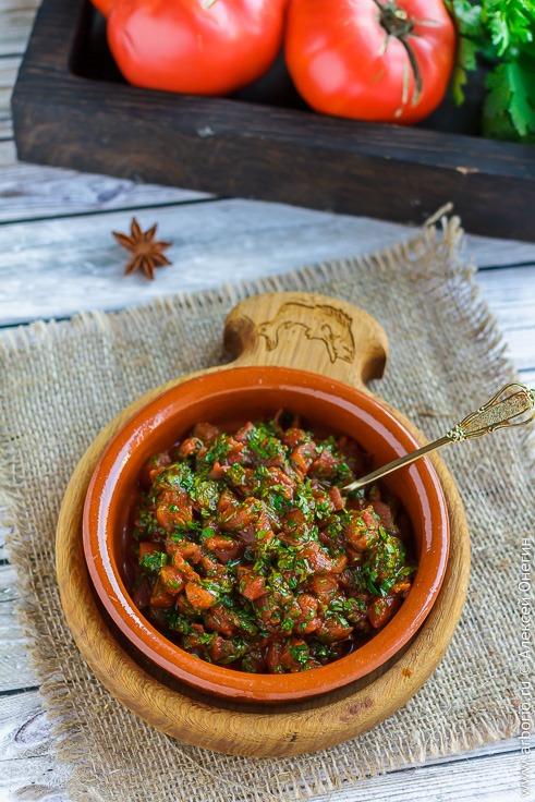 Рецепт чатни из помидоров с фото