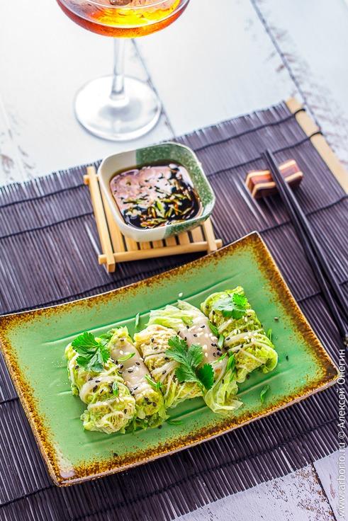 Китайские голубцы рецепт с фото