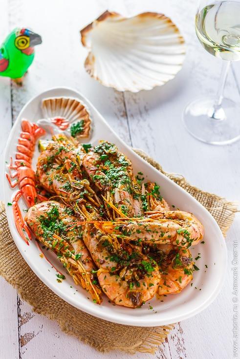 Очень вкусные креветки рецепт с фото