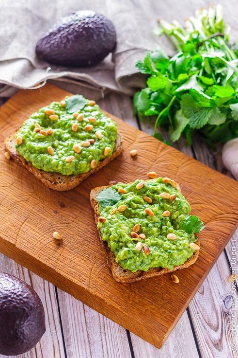 Тост с авокадо рецепт с фото