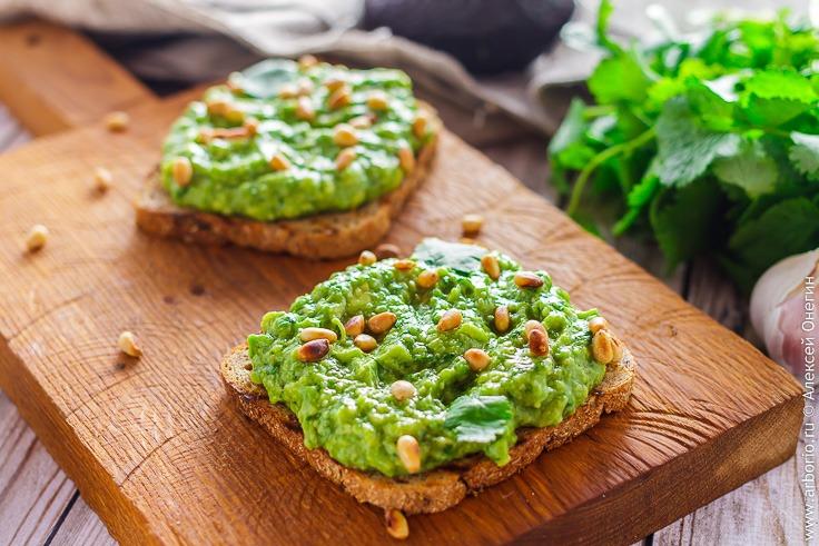Авокадо тост рецепт приготовления