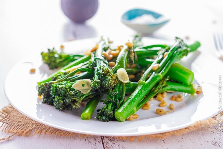 Рецепт брокколини