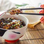 Баклажаны в соевом соусе с чесноком