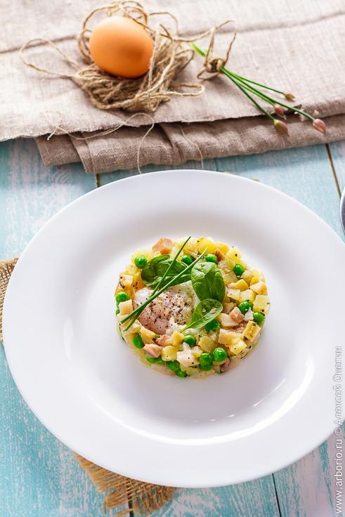 Рыбный салат рецепт с фото