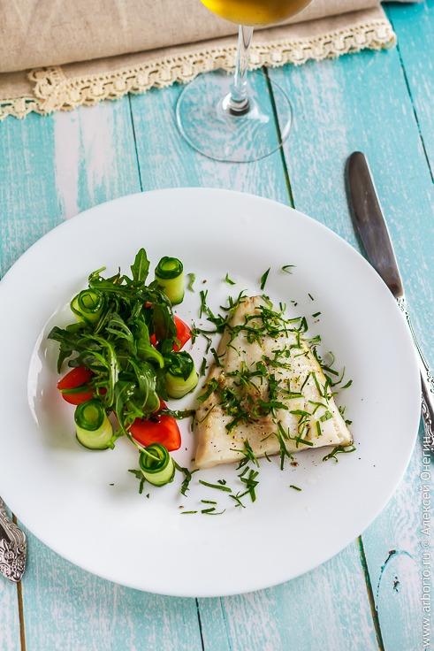 Филе рыбы на пару рецепт с фото