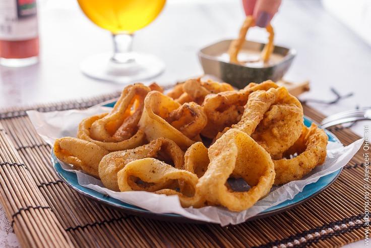 Кольца кальмаров - фото