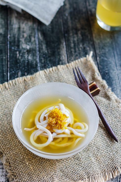 Спагетти из кальмара классический рецепт с фото