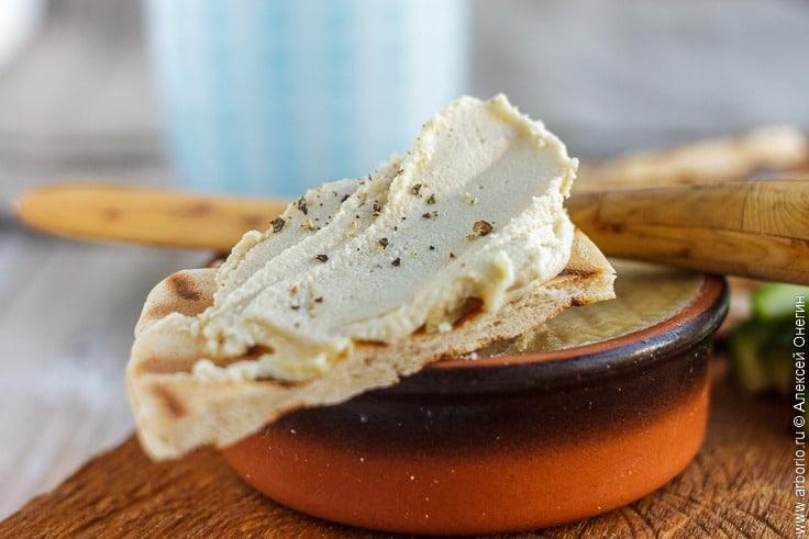 Постный сыр без молока - фото