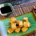Хрустящий тофу без жарки