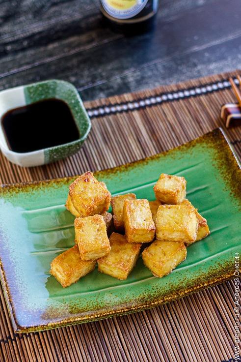 Хрустящий тофу без жарки - фото
