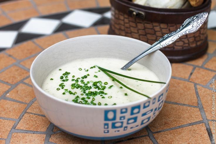 Крем-суп из белых грибов - фото