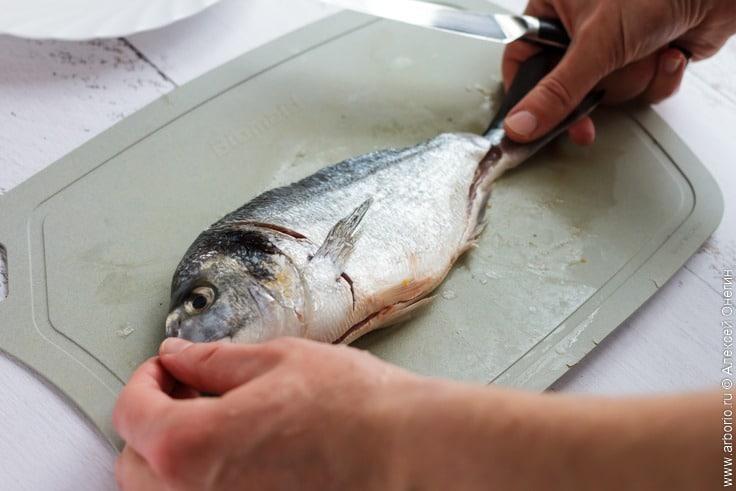 Как филировать рыбу - фото