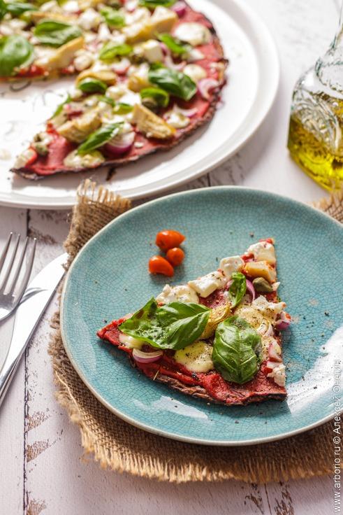 Пицца из кабачков - фото