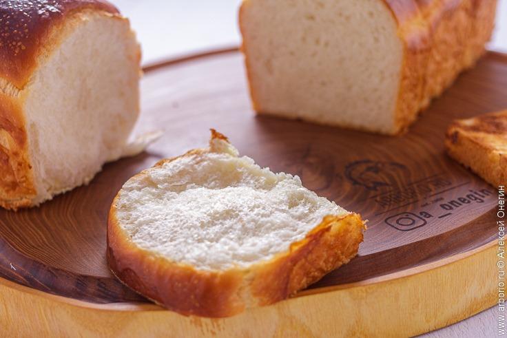 Молочный хлеб Хоккайдо - фото