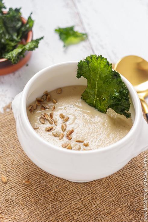 Крем-суп из топинамбура - фото