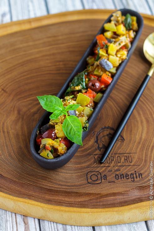 Тушёные овощи - фото