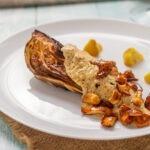 Капуста шпиц с горчичным соусом
