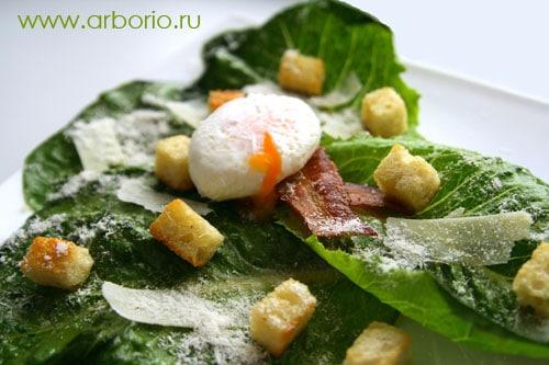 цезарь с фото салат
