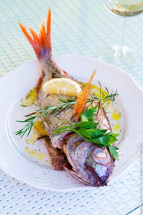 основные блюда из рыбы, новогодний стол