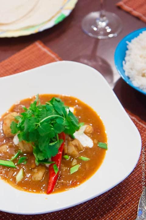 fish curry 1 Индийское карри из рыбы
