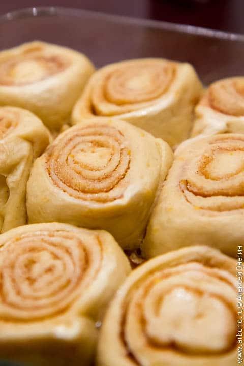 pecan buns 1 Медовые булочки с корицей и пеканом