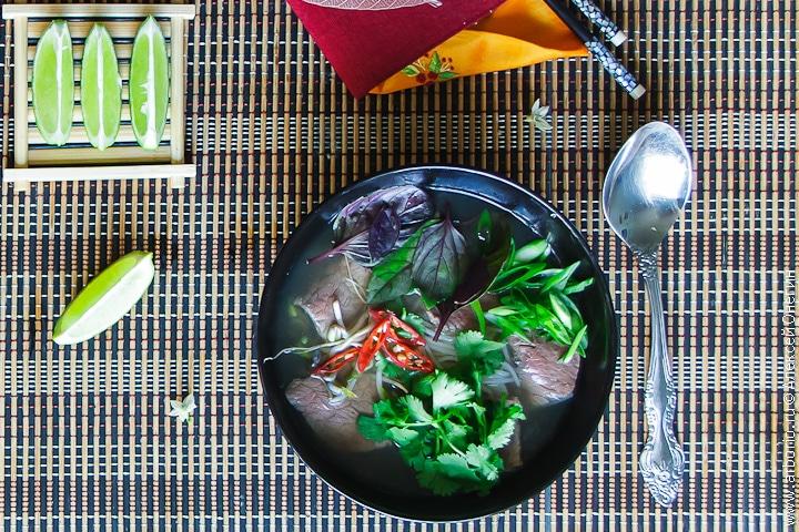 Вьетнамский суп фо бо с говядиной рецепт с фото