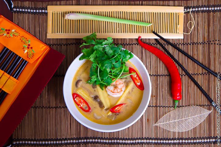 рецепт супа том ям из готовой пасты