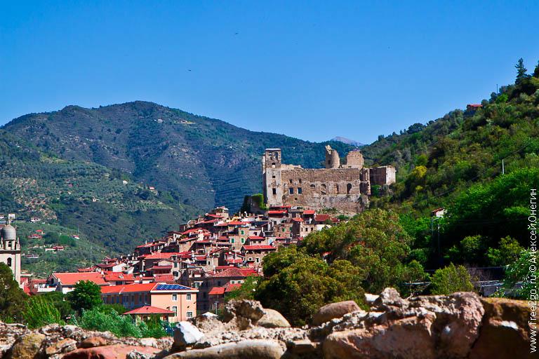 Горные деревни Лигурии – Дольчеаква, Пинья и Кастель-Витторио, Италия