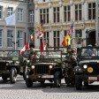 Парад войск союзников – Брюгге, Бельгия.