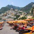 Единственный нормальный пляж Амальфитанского побережья – Позитано, Италия