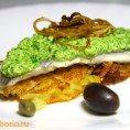 Жареная рыба с миндалем и петрушкой