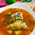 Согревающий рыбный суп