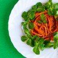 Салат из моркови с лимонным соком