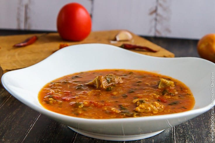суп харчо из пакетов рецепт