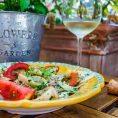 Салат с кальмаром и фенхелем