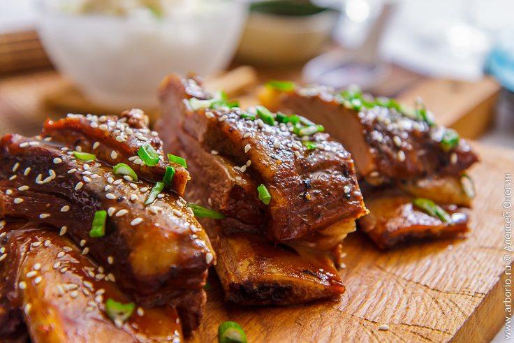 Грудинка говяжья тушеная рецепт