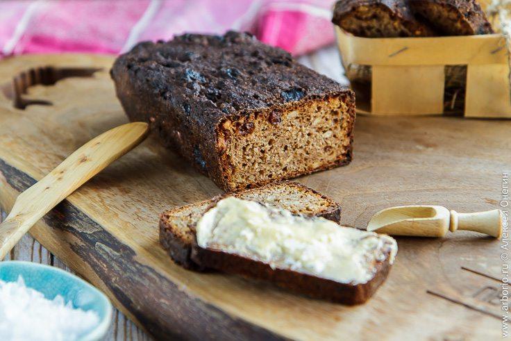 Ржаной хлеб на закваске - фото